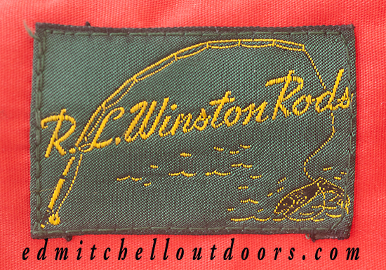 Winston Rod Sock Label