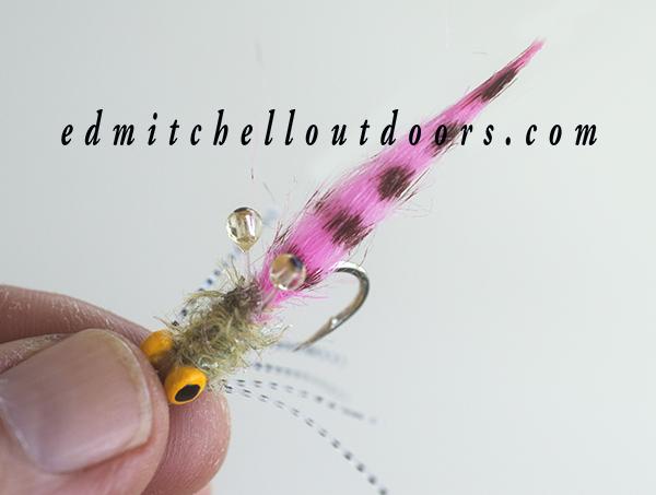 Pink Crab Flies work to