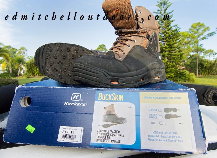 Korker Buckskin Wading Shoe