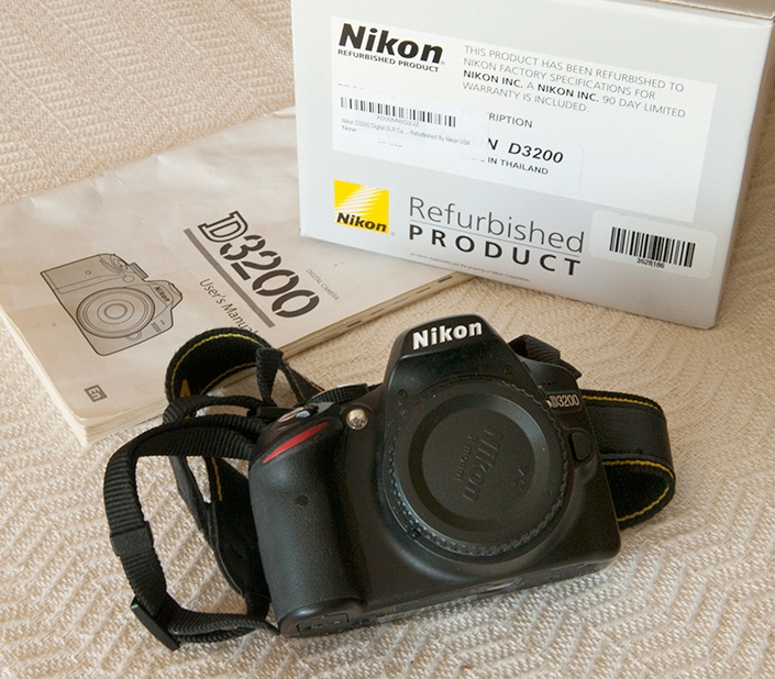 Refurbished NikonD3200